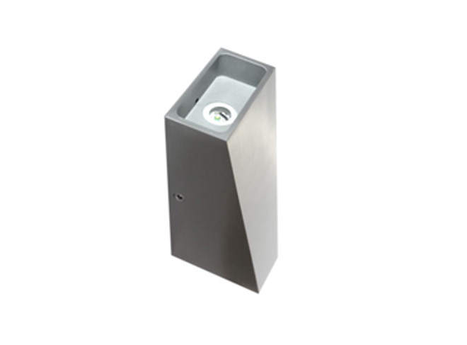Wedge Exterior Wall Lights : Lanark Wedge Up & Down Wall Light - LANWEDGE5K